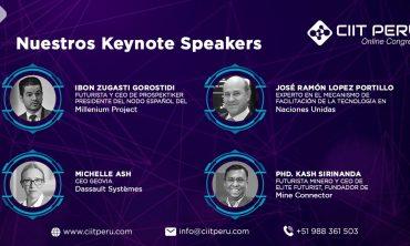 Nuestros Keynote Speakers CIIT 2021